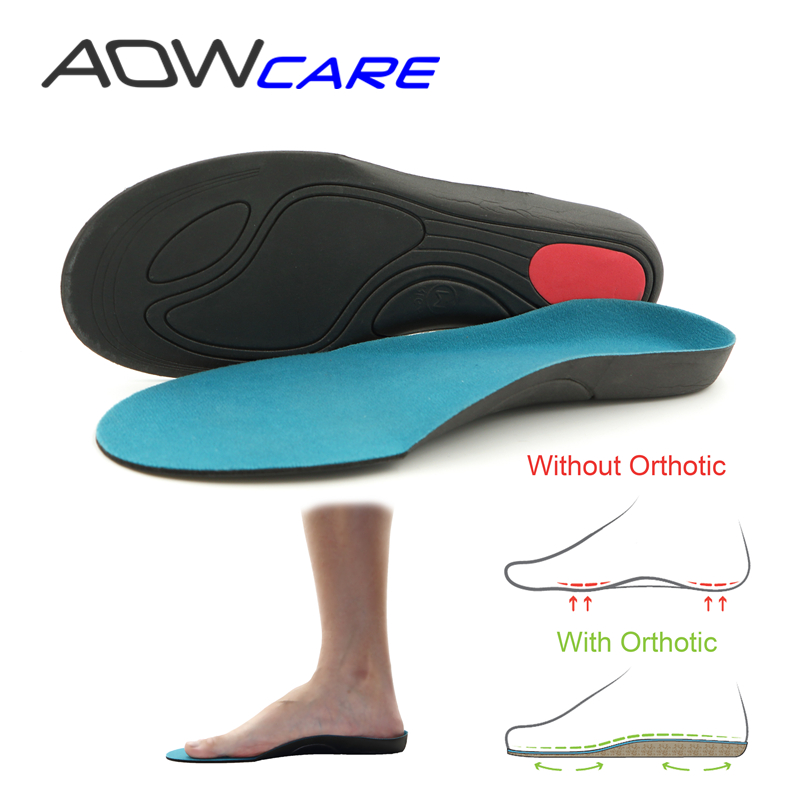 AOWCARE ANNIVERSARY SALE Arch Support Insole Orthotic Insoles Heel cushion Shock Absorbant inserts Flat Foot light EVA Foot Pad high quality o leg orthotic shoe pad arch support insoles foot care massage shoes pads shock absorbant breathable insole xd 042