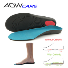 AOWCARE ANNIVERSARY SALE Arch Support Insole Orthotic insoles Heel cushion Shock Absorbant insert Flat Foot light EVA Foot Pad