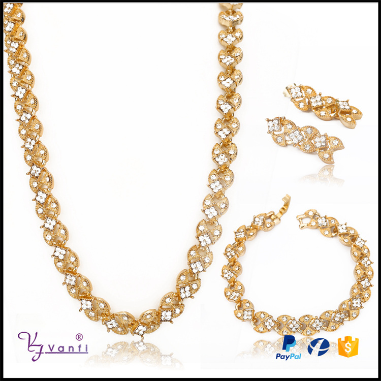 Online Shop New Style Saudi Fashion Design Wholesale Alloy Aaa