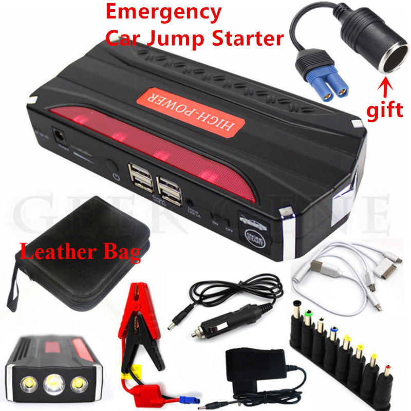 12000mAh Petrol Diesel Car Jump Starter Power Bank 600A Starting Device Booster Portable 12V Car Charger For Car Battery Buster 2017 multi function starting device 12v car jump starter portable power bank charger car battery booster buster petrol diesel