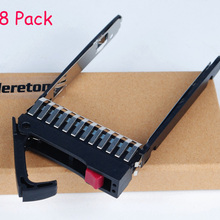 """Heretom комплект из 8 шт. тряпок 2,"""" с волокнно-Оптической вилкой HDD Лоток контейнер для носителя 500223-001 аккумулятор большой емкости для hp ProLiant G4 G5 DL380 DL360 DL385 ML370 ML350 ML570 G6 G7"""