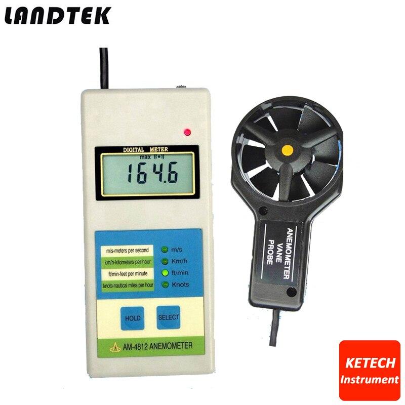 Digital Portable Speed Anemometer AM4812 все цены