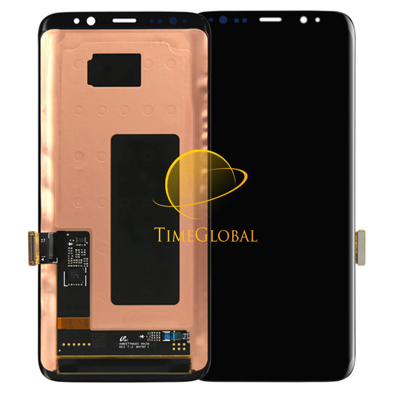 Hot Sale Dhl 5Pcs 100% New for samsung S8  Lcd Display Touch Screen Digitizer  Assembly Free Shipping dhl 5pcs 100