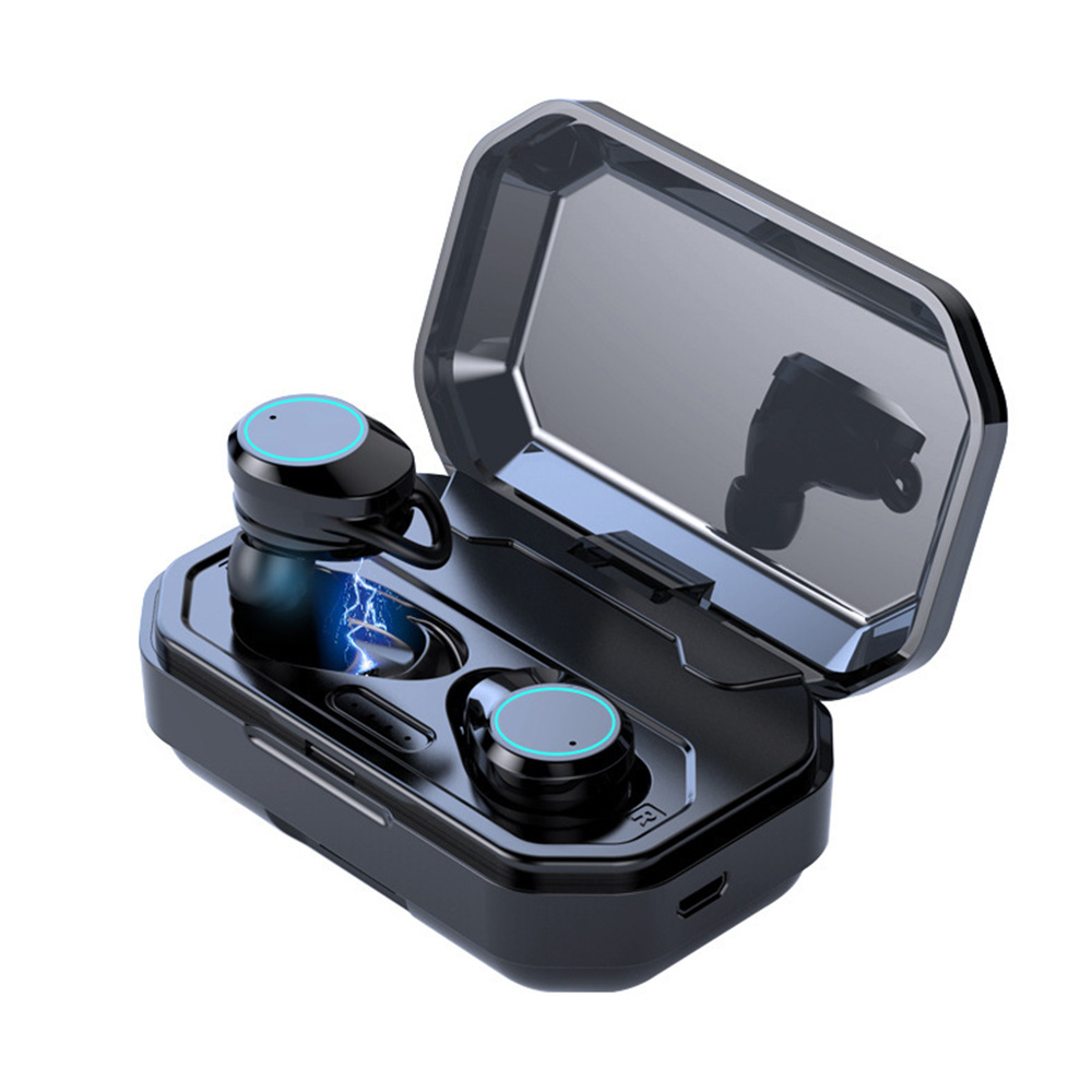 FDBRO X6 TWS écouteurs sans fil Bluetooth casques vrais 5.0 bruit réduire CVC8.0 HiFi stéréo dans l'oreille écouteurs 3000mAh Charge Case