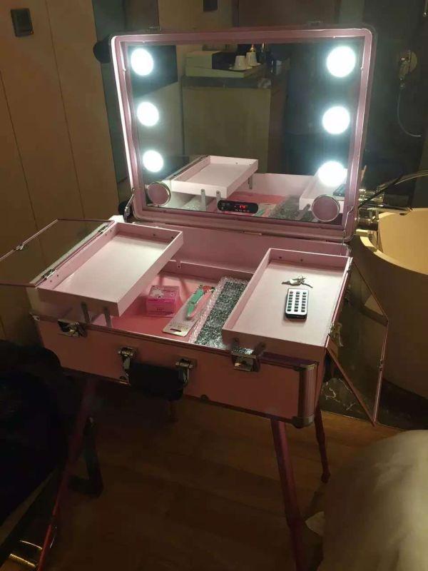 Free Shipping to USA Makeup Storage Box Train Make Up