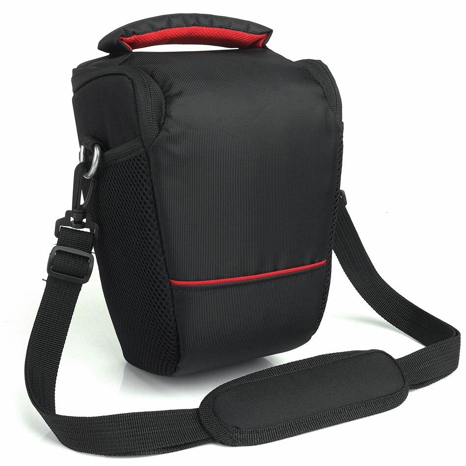 HUWANG Camera Bag Case For Olympus EM10II E-M1 EPL7 EPL8 SP-100EE Fujifilm XE3 X100F XT1 XT2 XA3 Panasonic GF9 GF8 GF7 Photo Bag