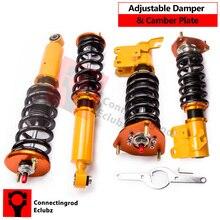 For Nissan Silvia 200SX S13 Adjustable Coilovers Damper Shock 89-93 240SX 200SX 180SX Suspension Struts adj. Damper Coilover
