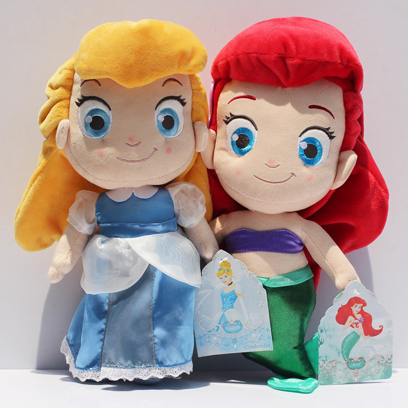 Disney Princess Cinderella Plush Soft Stuffed Doll 12/'/' 30 cm