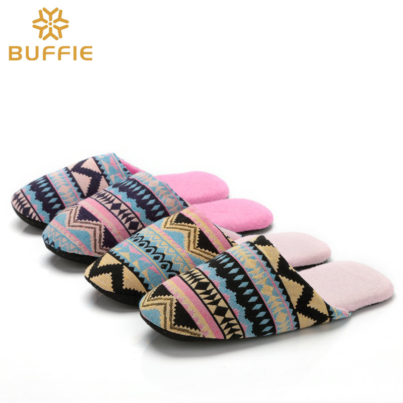 Lady Shoes Ladies Casual Slipper Interior Non-Slip High Warm in Autumn and Winter Thick Bottom Super Soft Plush Stylish Slippers Size 37