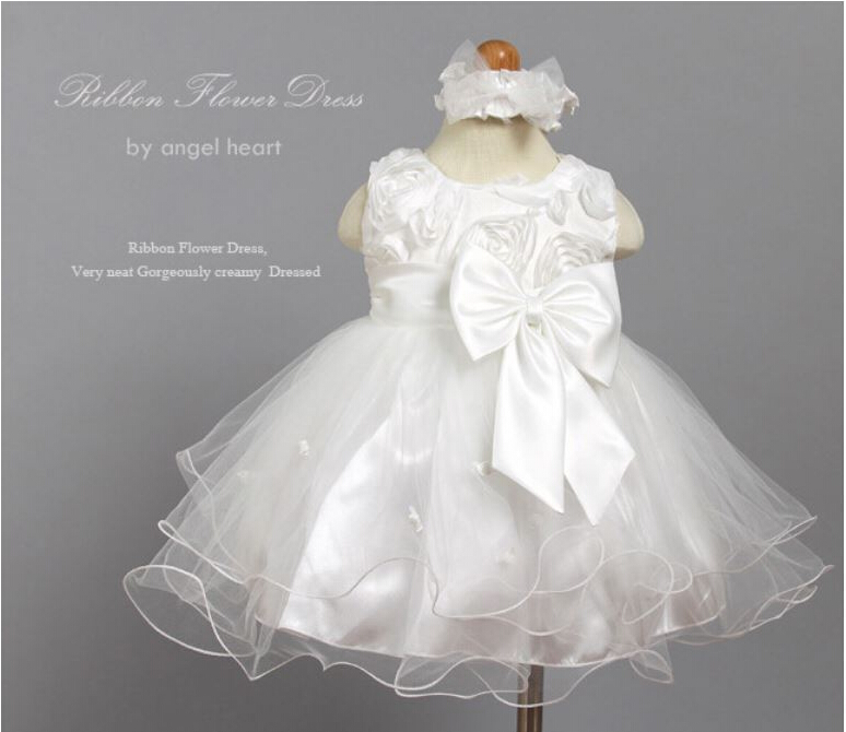 8a9ef5436363 2017 New 1 year girl baby birthday dress baby girl christening gowns ...