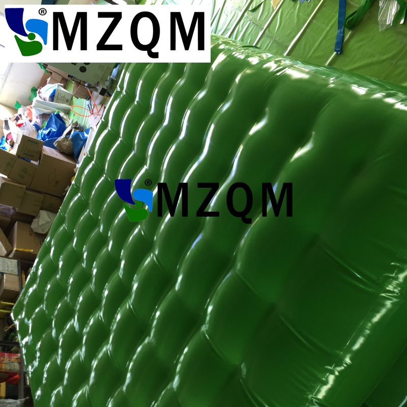 MZQM 4m*2m*0.3m Special Inflatable Gymnastics Landing Mats , Inflatable Gymnastic Cushion For Sports Traing,Air Track For Sale economic newly design 2 4mx1 2mx3cm cheap gymnastic mats