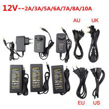 5V 10A LED Power Supply For WS2812B WS2811 LPD8806 WS2801 Strip Light DC5V