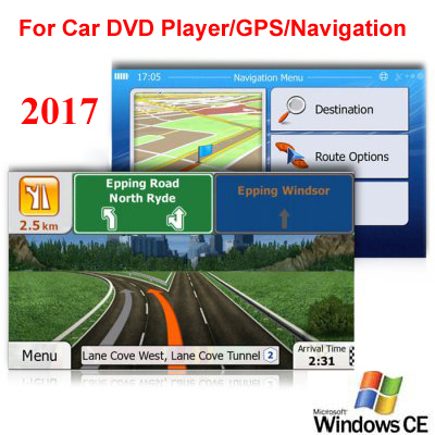8GB Micro SD Card Car GPS Navigation 2017 Map software for Europe Italy France UK Netherlands