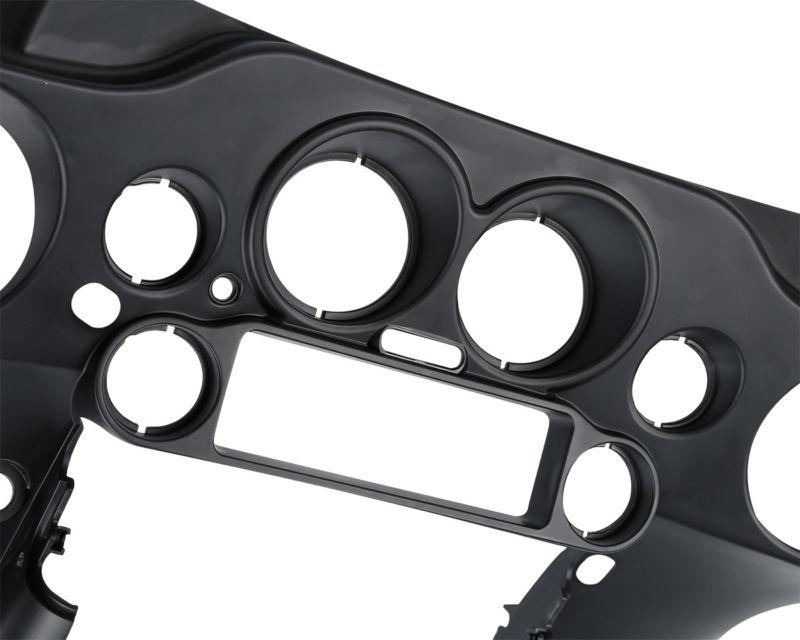 Must eesmine sisemine kiirusmõõtja kaaneplekk Harley Electra - Mootorrataste tarvikud ja osad - Foto 6
