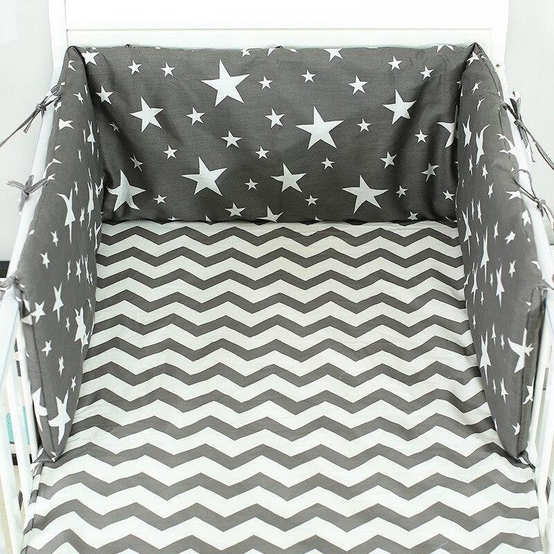 cama do bebe berco amortecedor de algodao em forma de u engrossar almofada bebe berco ferroviario