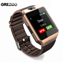 GREZOO Bluetooth Smart Watch DZ09 Clock Smartwatch With TF SIM Slot Camera for IOS iPhone Samsung Huawei Xiaomi Android Phone