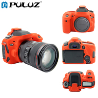 PULUZ Soft Case For Canon EOS 80D Silicone Case Anti Slip Shockproof Protective Case For Canon EOS 80D