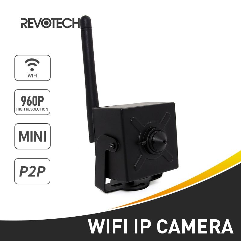bilder für WIFI 1280x960 P 1.3MP Mini IP Kamera 3,7mm Objektiv Indoor Schwarz Sicherheit Kamera ONVIF P2P CCTV IP Cam