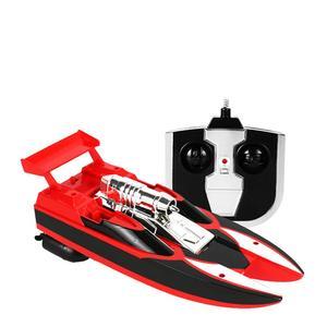 Image 5 - Kablosuz Uzaktan Kumanda Su Geçirmez Süper Mini Elektrikli Yüksek hız teknesi Gemi