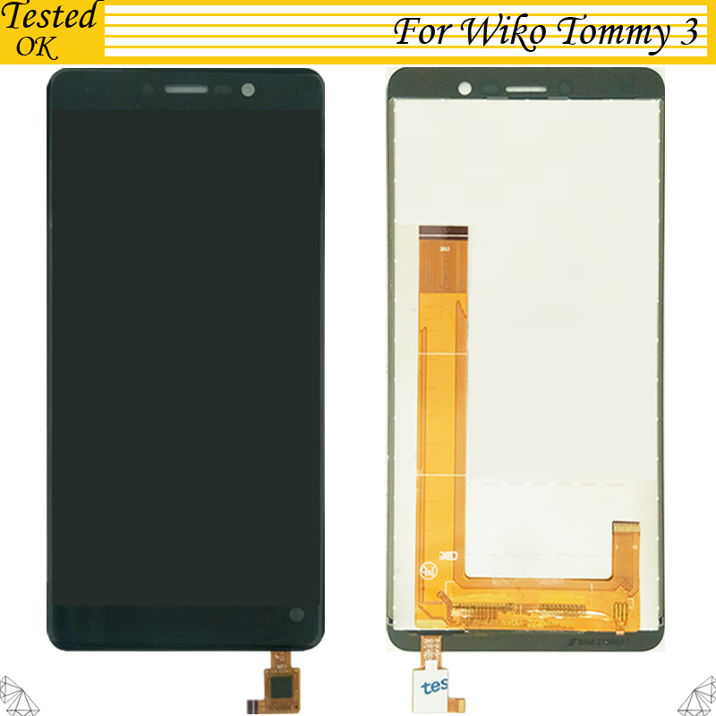 5.45 Inch For Wiko Tommy 3 LCD Display and Touch Screen Digitizer Assembly For Wiko Tommy3 LCD Accessories5.45 Inch For Wiko Tommy 3 LCD Display and Touch Screen Digitizer Assembly For Wiko Tommy3 LCD Accessories