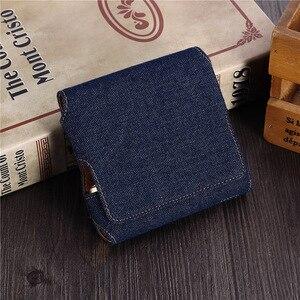 Image 4 - Funda de cuero tipo billetera con tapa a la moda para IQOS 3,0 bolsa soporte caja funda para IQOS 3 funda, soporte