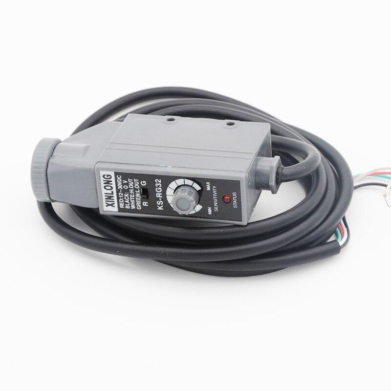 Rosso Verde Colore chiaro rivelatore Fotoelettrico sensore di prossimità interruttore 10mm gamma NPN per foto-automazione sistema di controllo del sensore
