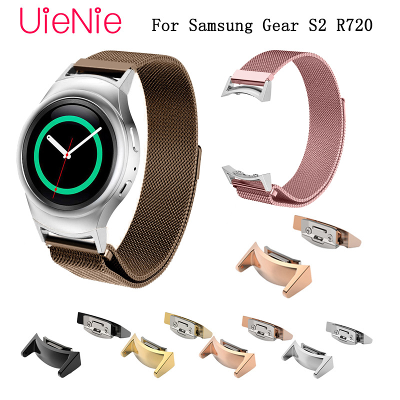 20mm Strap For Samsung Gear S2 smart watch band For Samsung Galaxy Watch Active/Galaxy 42mm bracelet handsel with connector