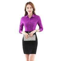 Women Blouses Chiffon Turn Down Collor Long Sleeve Shirts Plus Size XXXL 4XL Blusas Bluse Blouse