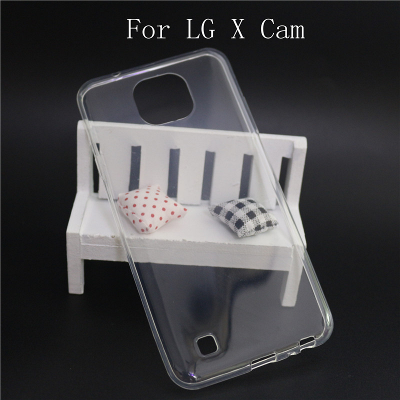 Cover For LG X CAM / LG K580 Case Soft Transparent Silicone TPU Funda Coque Case For LG X CAM Phone Protective Back Cover Cases