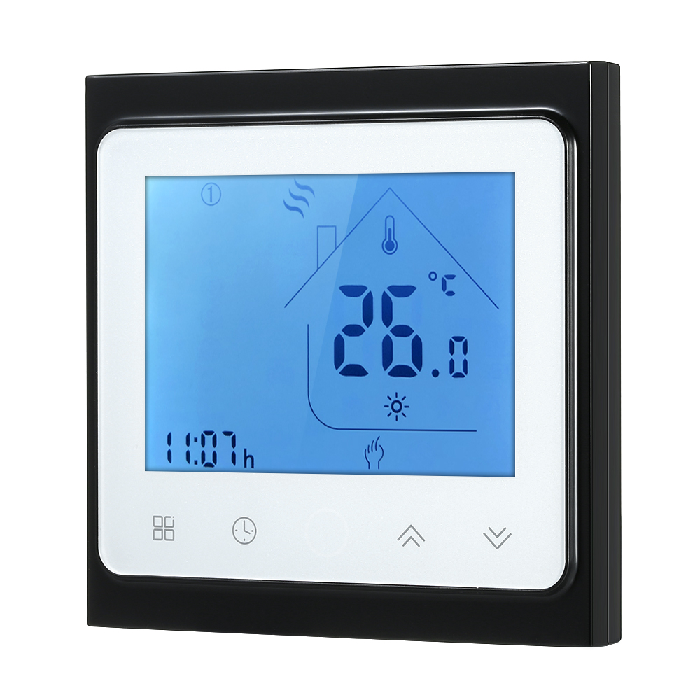Popular Brand 16a Electric Heating Thermostat Handy Heater Touchscreen Lcd Display Weekly Programmable Energy Saving Temperature Controller Exquisite (In) Workmanship