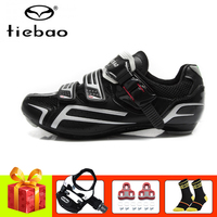 Tiebao sapatilha ciclismo cycling shoes road pedals SPD SL 2019 Self locking breathable Athletic bicycle shoes road sneakers