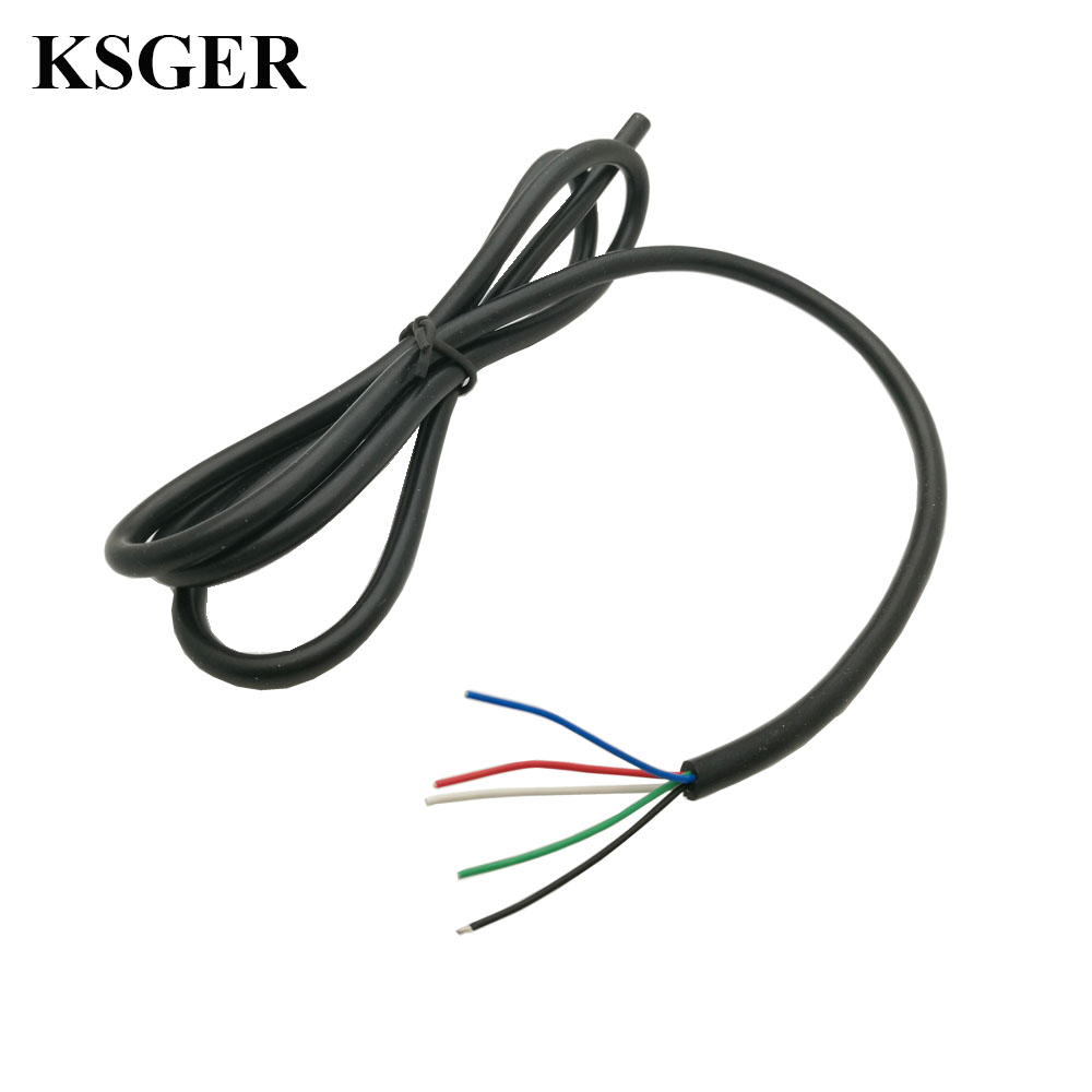 Electronic Soldering Iron High Temperature 5 core Silicone Cable Wire Accusing Handle T12 Line DIY Soldering Station Handle Electric Soldering Irons Tools - AliExpress