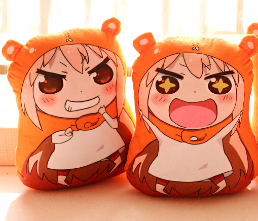 Candice guo plush toy stuffed doll anime funny Umaru chan girl hand warmer warm pillow cushion birthday gift christmas present candice guo cute plush toy anime corgi pet shiba dog head hamburger cushion hand warm pillow birthday christmas gift 1pc
