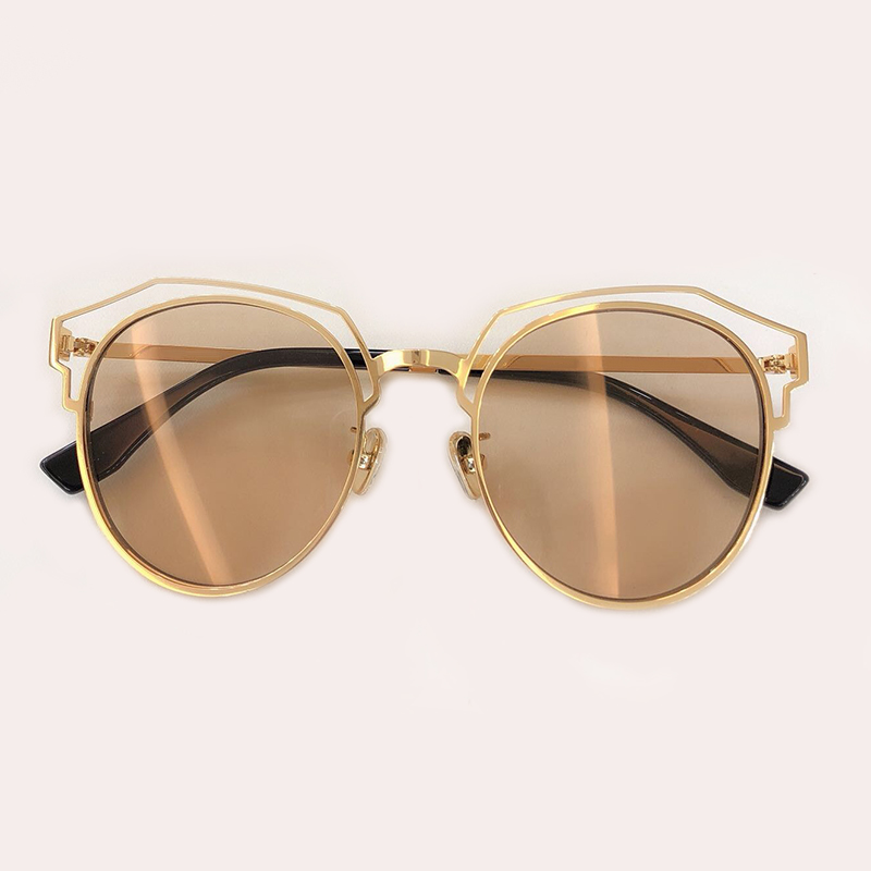 no Sunglasses no Designer 4 Qualität 2019 Sunglasses 1 no Für De Runde Oculos Sunglasses Sonnenbrille 3 5 Sunglasses Männer Mode Hohe Neue Sunglasses Feminion no Frauen Marke No 2 Sol wqACp