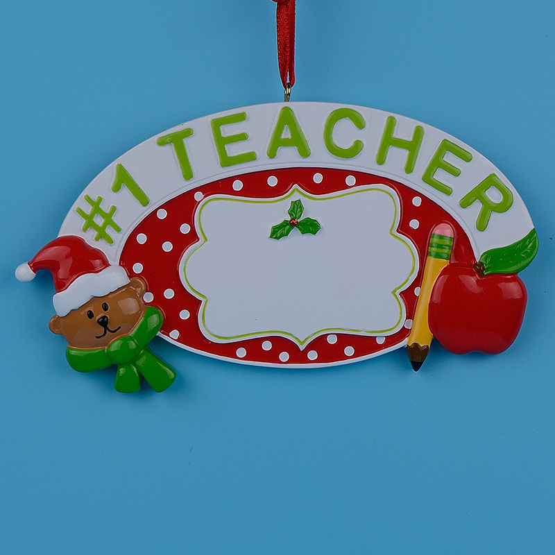 Teacher Christmas Ornaments Promotion-Shop for Promotional Teacher ...