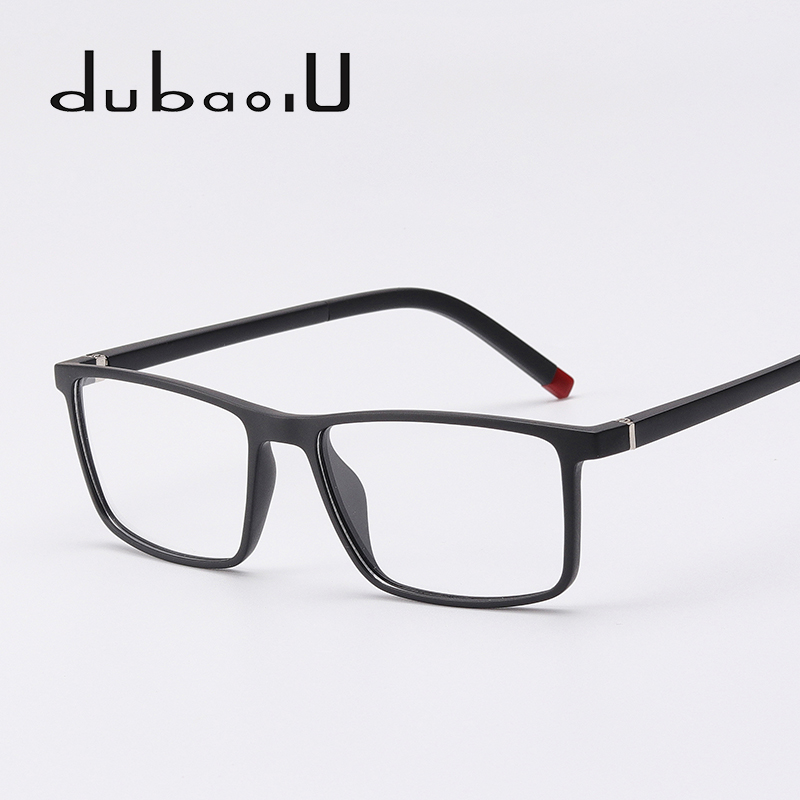 TR90 Men Eyeglasses Frame Brand Designer Computer Myopia Clear ...