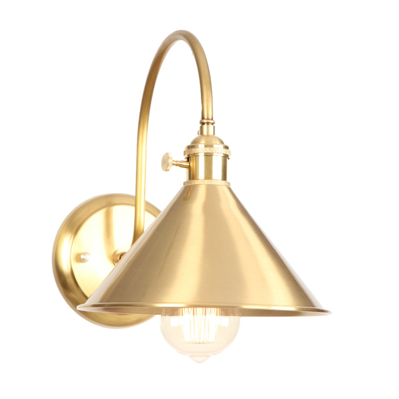 Industrial Vintage LED Wall Lamp Antique Copper Wall Sconce Edison Bulb With Switch Bedside Wall Light Lighting Lampara ParedIndustrial Vintage LED Wall Lamp Antique Copper Wall Sconce Edison Bulb With Switch Bedside Wall Light Lighting Lampara Pared