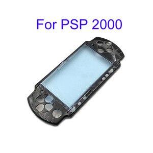Image 5 - שחור קדמי לוחית פגז מקרה כיסוי Proctector החלפה עבור PSP 1000 2000 3000