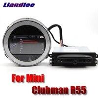 Для детей в стиле британского национального флага для дисков Mini Clubman R55 2007 ~ 2014 Liislee автомобильный мультимедийный плеер NAVI оригинальный автом