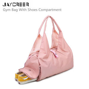 Jaycreer Athletic-Bags Shoes Gym-Bag Sports with Compartment Travel Duffel-Bag for And