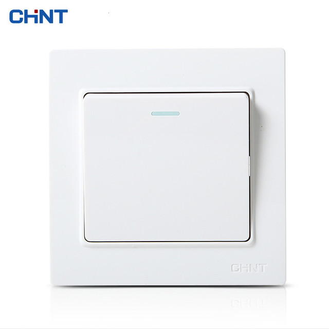 CHINT Wall Switch Socket Panel 7L86 Type Security Steel Frame Five ...