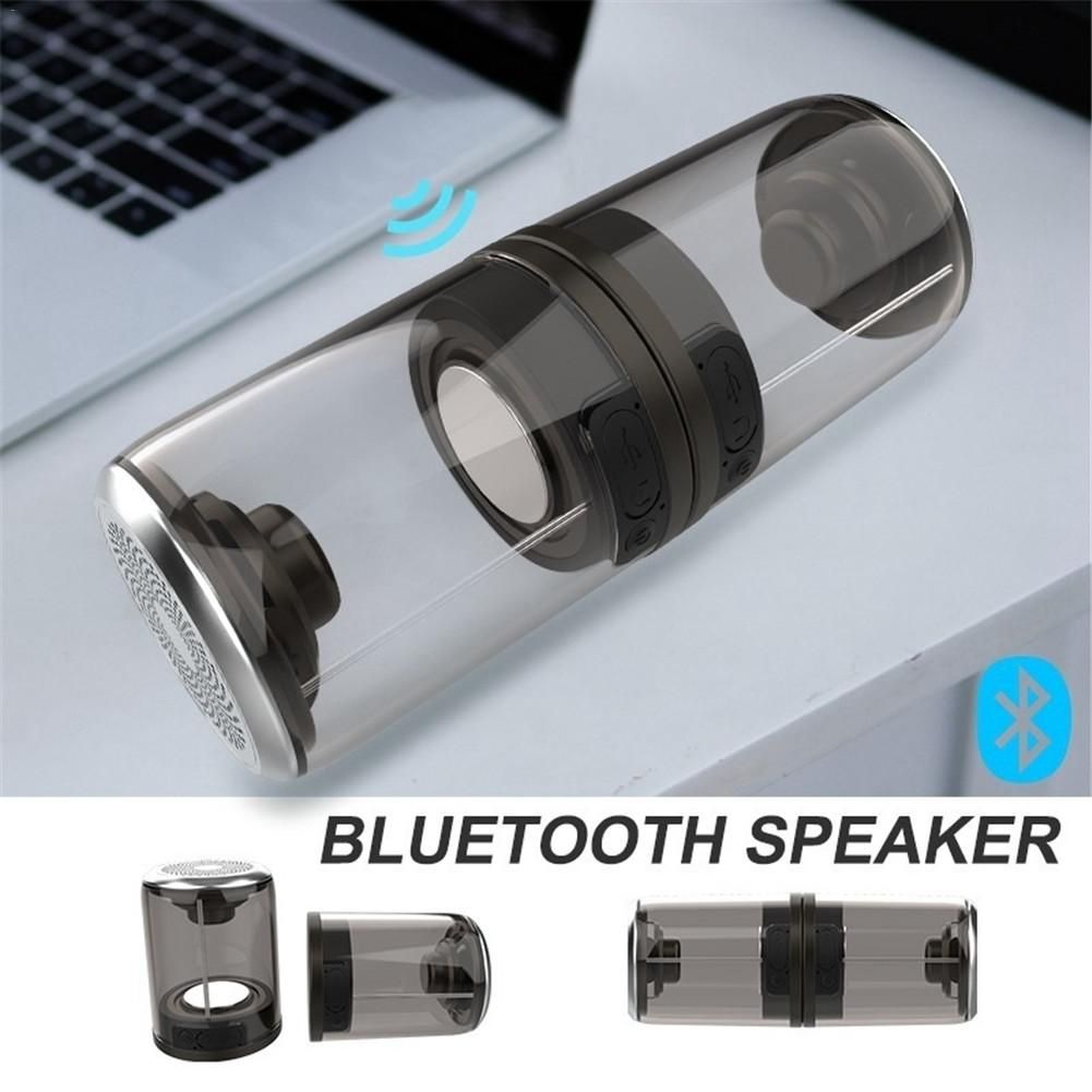 The New TWS Truly Wireless Waterproof Magnetic Suction Bluetooth Speaker Split One On Two Mini Outdoor Pair Box