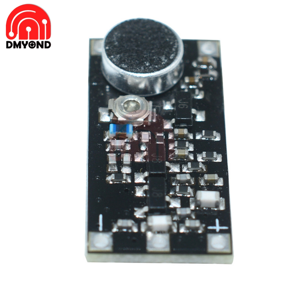88-108MHz FM Wireless Microphone Surveillance Transmitter Module For Arduino
