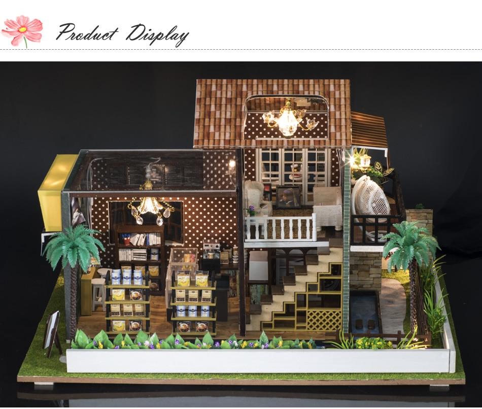 A Little While DIY 3D Miniature House