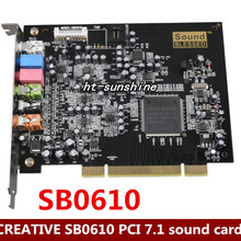 Разбирать, PCI 7,1 встроенный настольных посвященный сети K песня SB0610, работает хорошо
