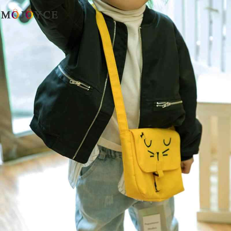 ... Kids Cute Cartoon Casual Canvas Messenger Bags Children Mini Shoulder  Bags Child Girls Crossboday Bag 63cc1d734f6b7