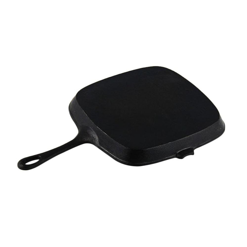 High Quality Non-sticky Cast Iron Steak Frying Pan Breakfast Frying Pan General Use for Gas Induction Cooker Kitchen cook Tools