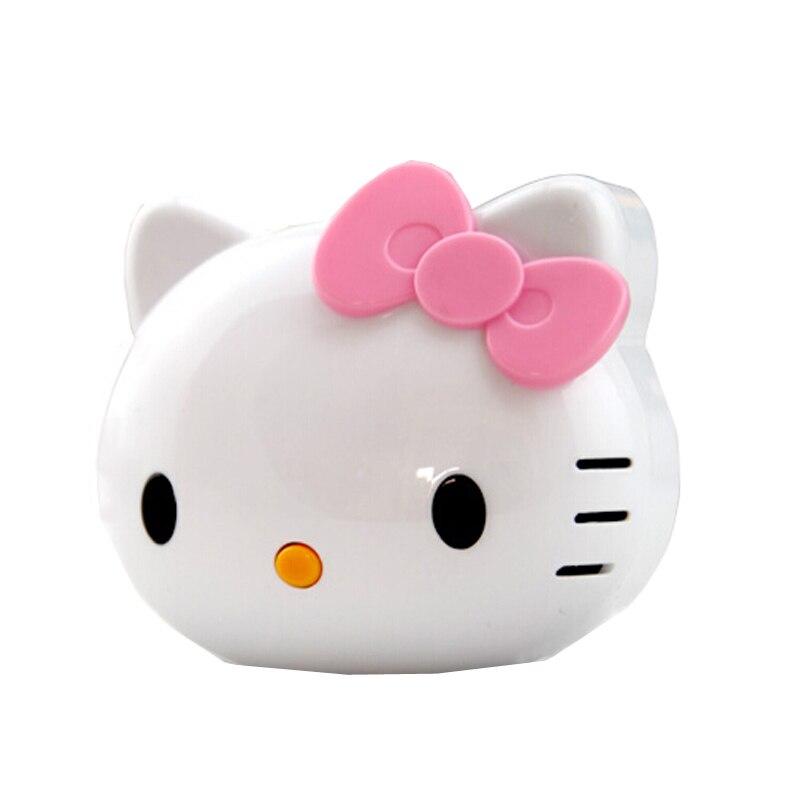 imágenes para Nueva moda hello kitty dibujos animados lindo 8000 mah banco de alimentación externa powerbank cargador de batería universal para el iphone para el teléfono móvil