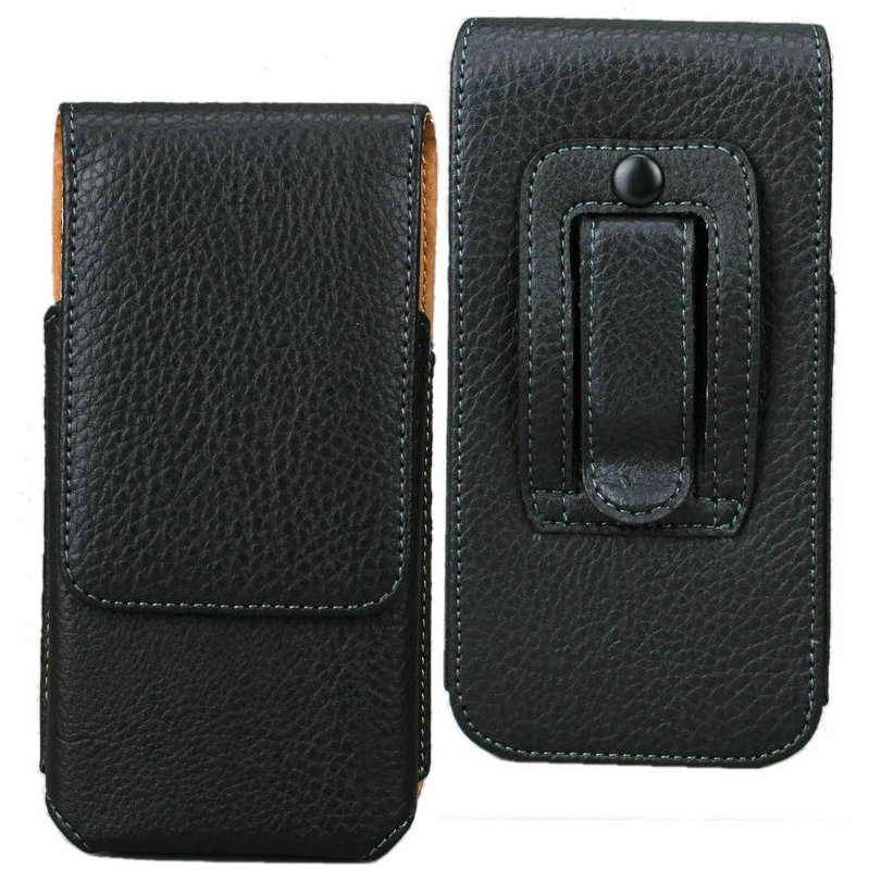 For iPhone 7+ Vertical Litchi Grain Leather Case, Holster With Belt Clip For iPhone 6 Plus and iPhone 6s Plus 5.5