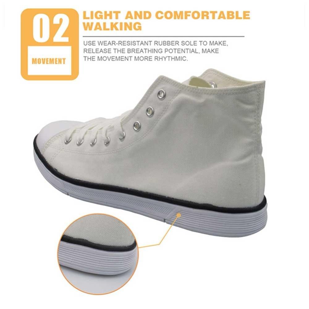 Nouveauté chaussures homme féroce motif tigre vulcaniser chaussures lettre noir appartements toile hommes chaussures baskets montantes - 4